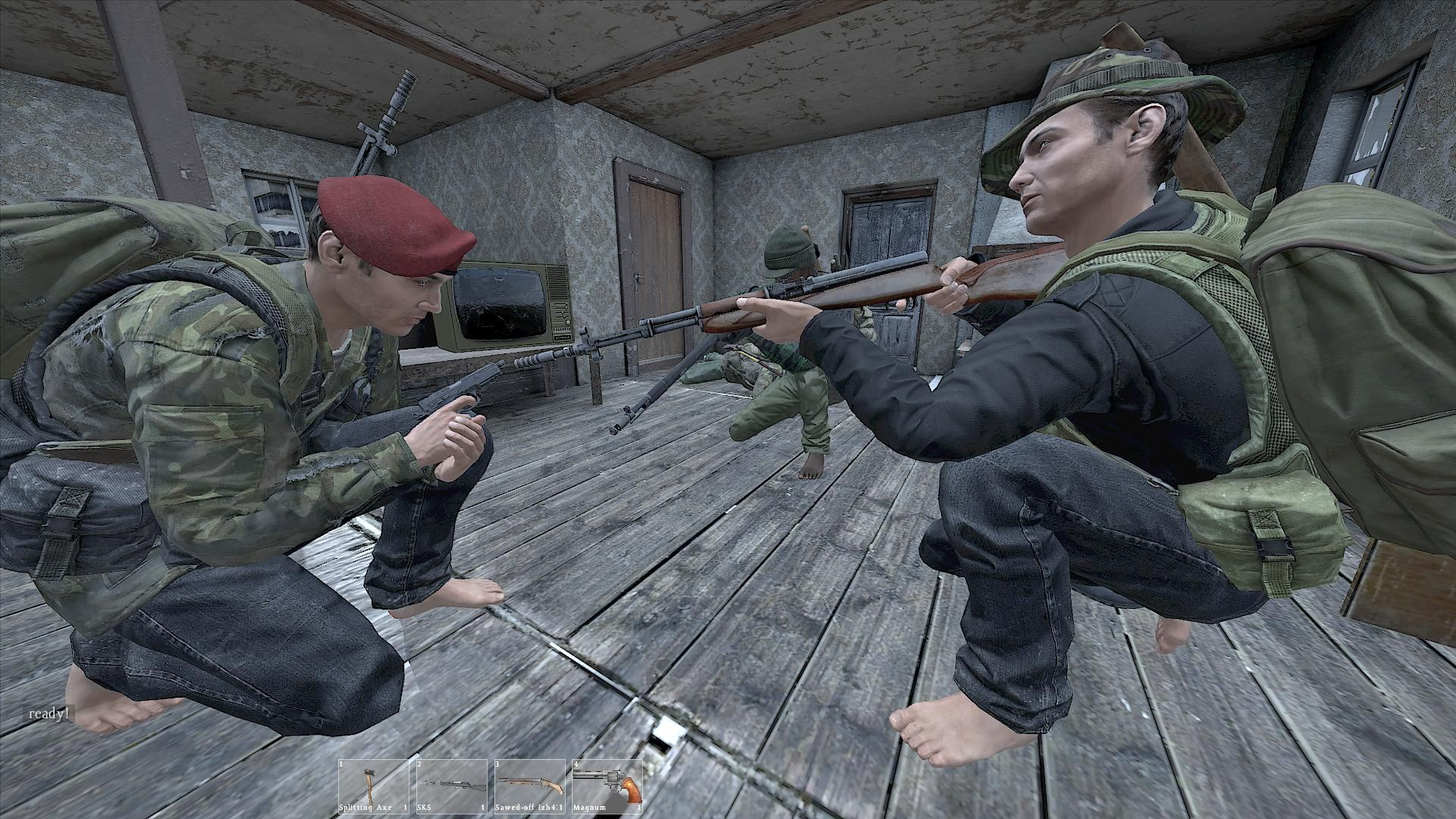 One of the teams in DayZ Standalone #dayzsa