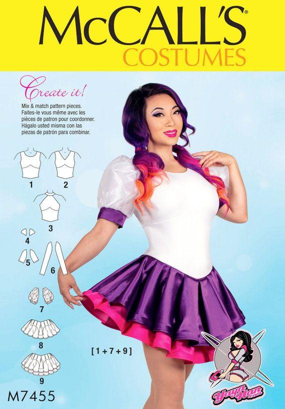 Yaya Han Costume Pattern, Cosplay Costume Pattern, McCall\'s Sewing ...