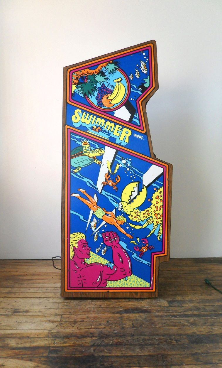 Swimmer Video Arcade Game for Sale Arcade games, Game sales