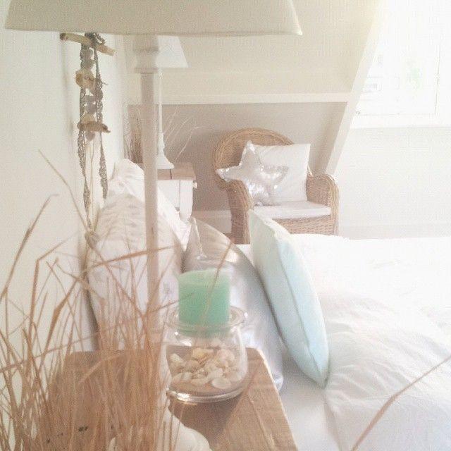 ♡ #beachbedroom #beachdecor #bedroom #mint #homeinspirations #rivieramaison #coastal #summerbreeze #tamara jonker