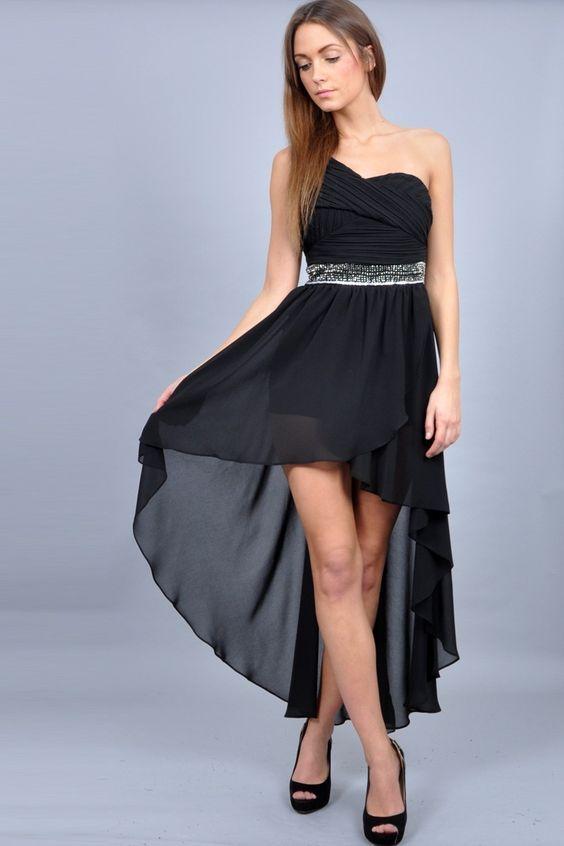 Vestido formal es largo o corto