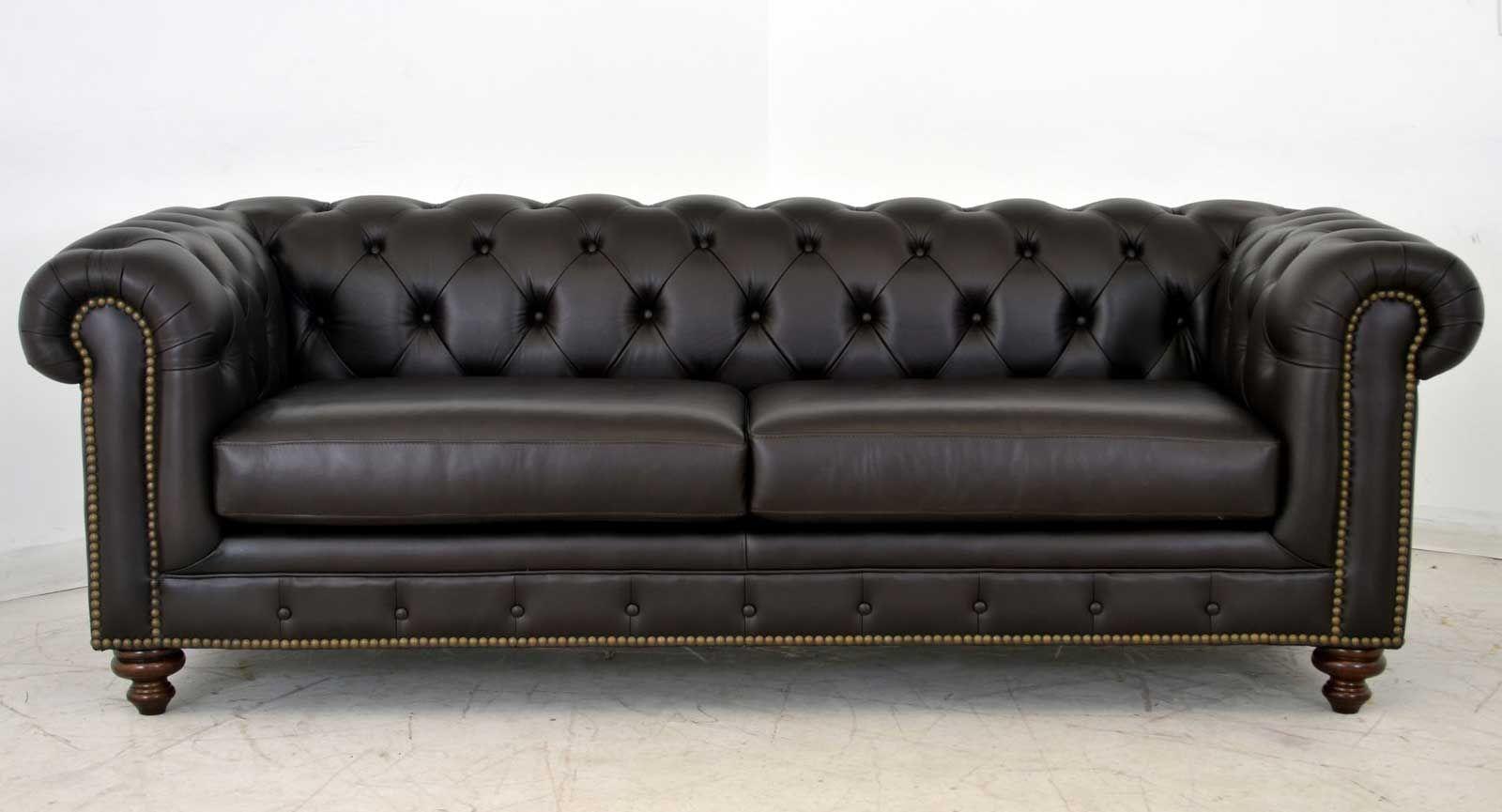 Kensington Sofa ‹‹ The Leather Sofa Company | Leather ...