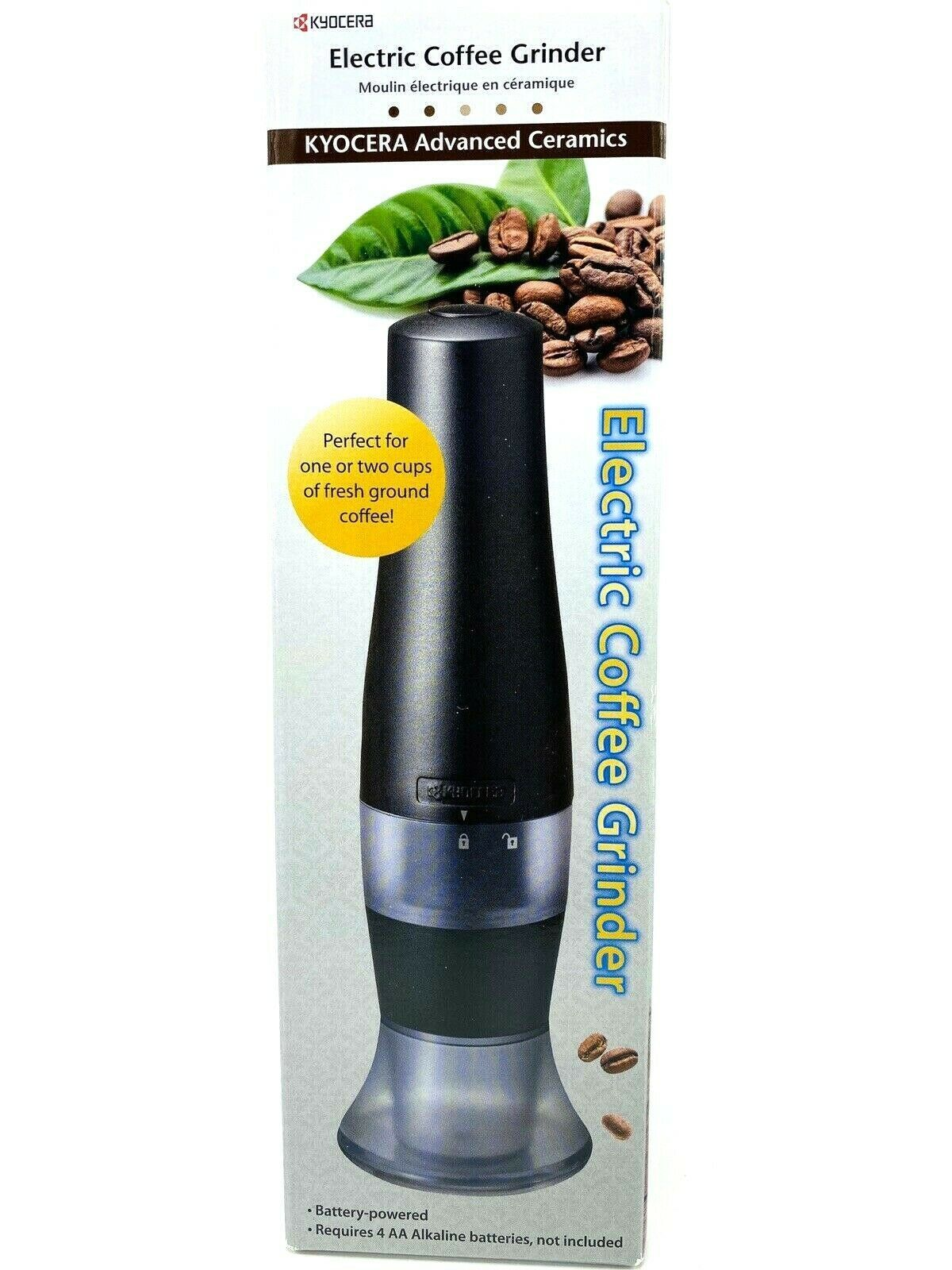Kyocera EG70CF Electric Coffee Grinder One Size Black