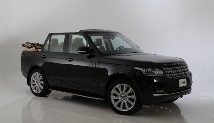 Range Rover Convertible: Newport points to the tendency of convertible SUV | Exotic Cars Reviews
