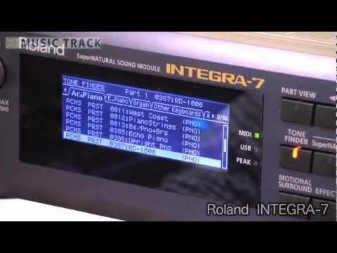 ROLAND INTEGRA-7 | Home Music Studio | Home studio music, Music, Drums