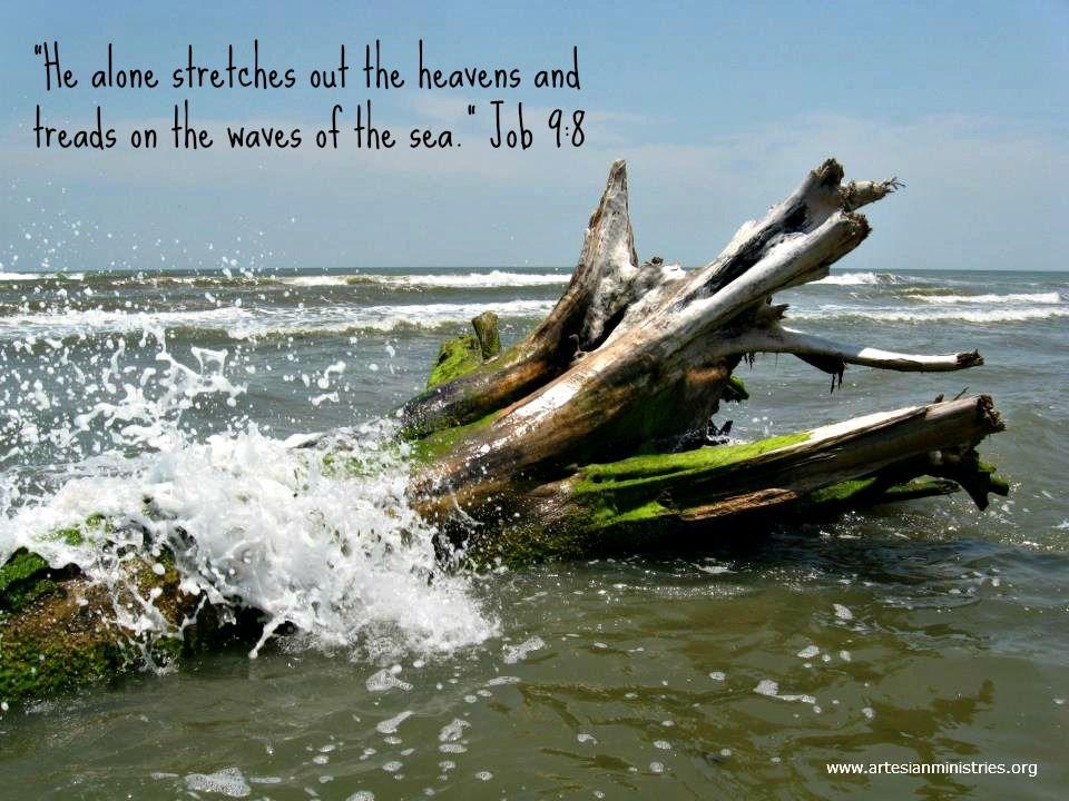 Galveston, Texas. Job 98 faith waves Biblical