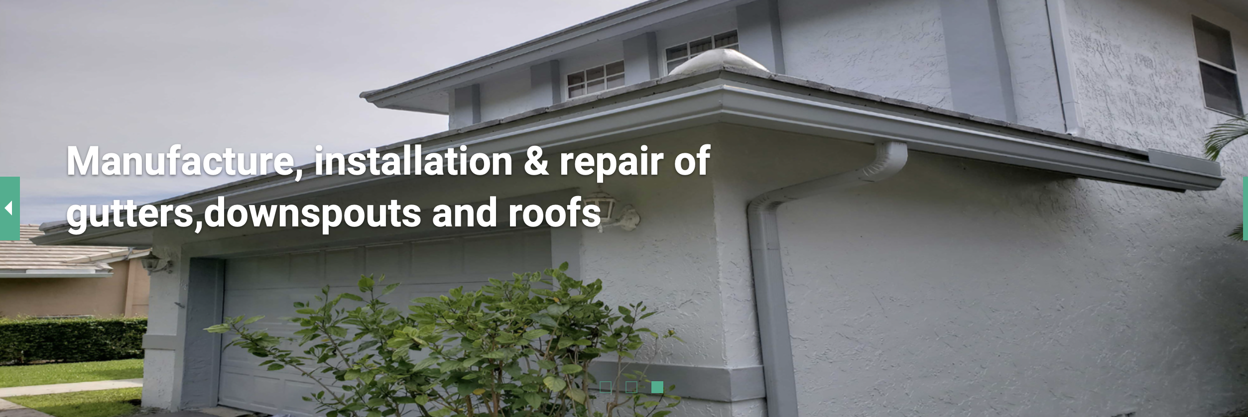 We Offer A Wide Variety Of Services Don T Wait Contact Us Today Homeowners Southflorida Gutters Gu How To Install Gutters Seamless Gutters Gutter Repair