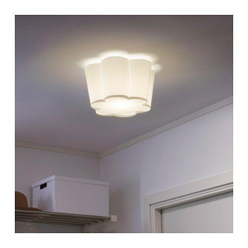 Lysboj l mpara de techo blanco ikea habitaciones ni a - Ikea iluminacion ninos ...