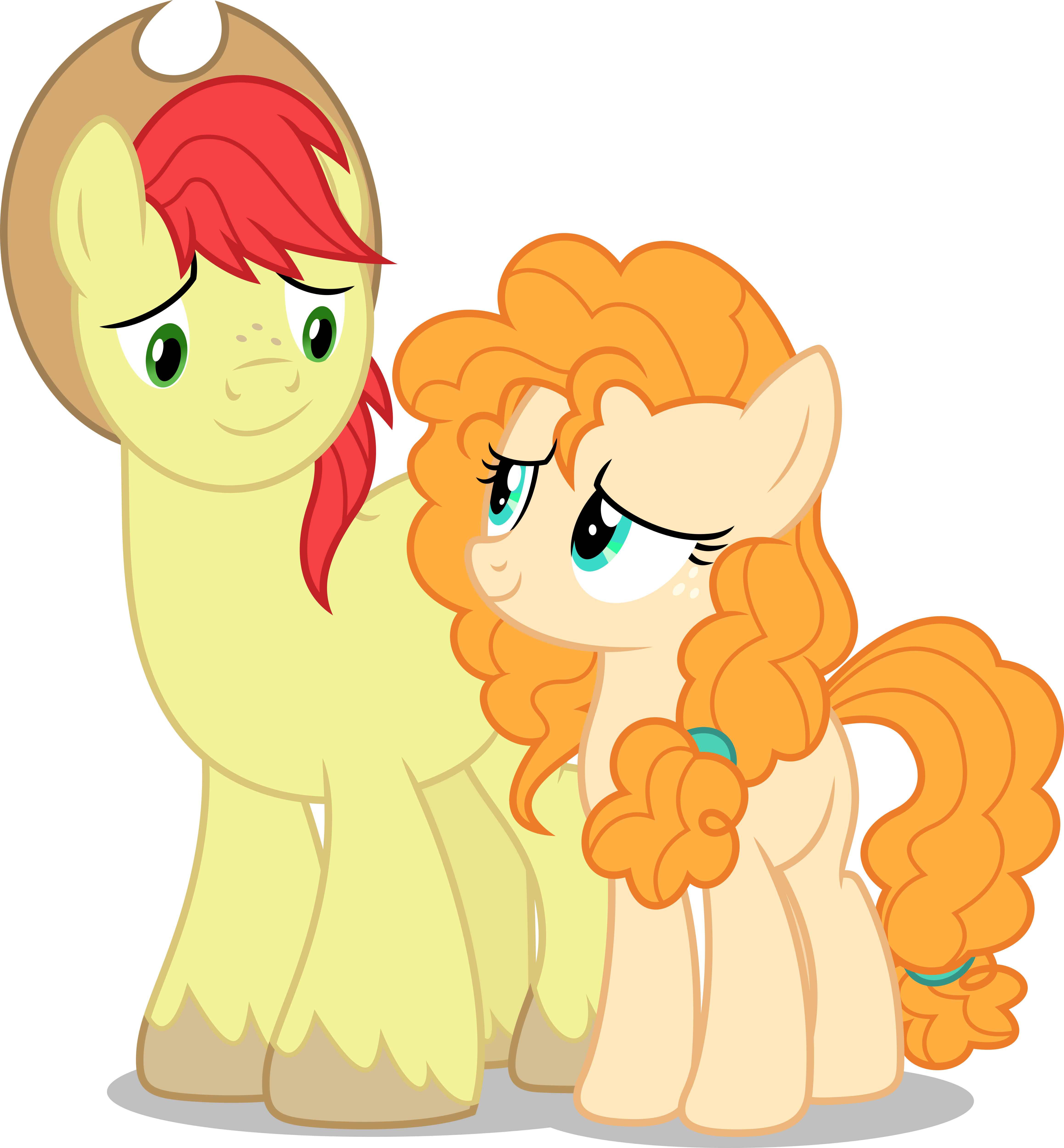 Vector 745 Bright Mac Pear Butter by DashieSparkle Pear butter, My little pony