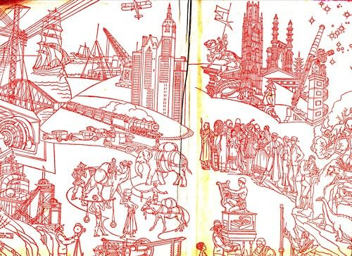 Children's / imaginative Illustrations: End papers illustrated by Joyce Mercer, 1896-1965