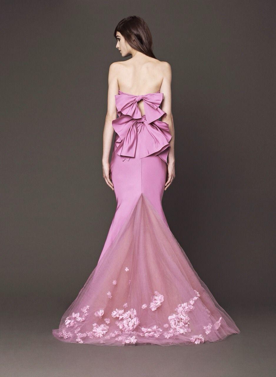 Magnífico Damas De Honor De Los Vestidos De Vera Wang Cresta ...