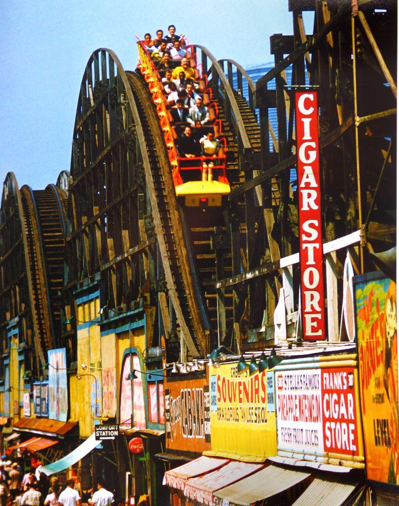 #Rollercoaster, #ConeyIsland, #nyc