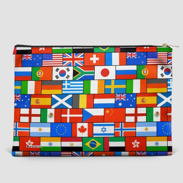 Flags - Pouch Bag
