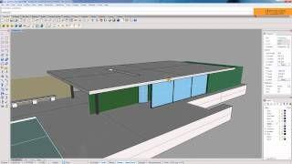 01 Overview [Vray for Rhino] - Barcelona Pavilion, via YouTube.