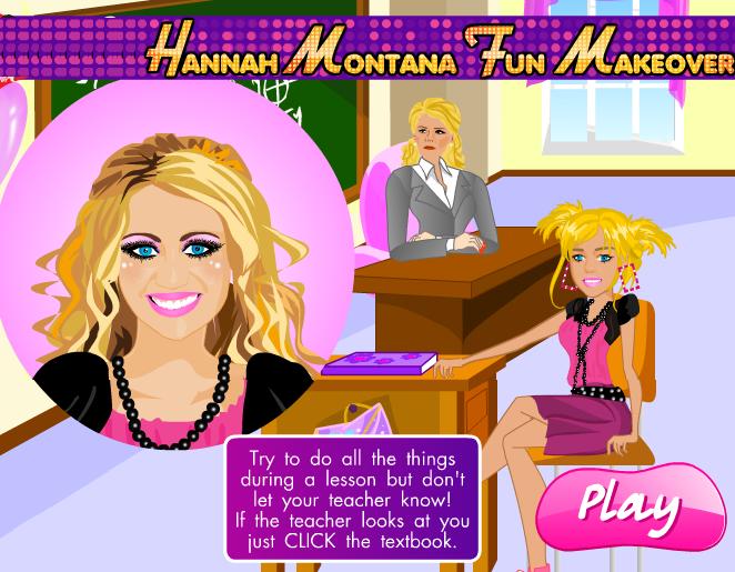 Hannah Montana spelletjes, games, Miley Cyrus 95