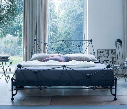 Elegantes Chambres Avec Des Lits En Fer Forge Bed Slaapkamer House