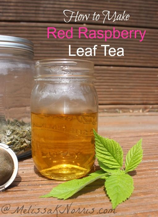 how to drink raspberry leaf tea