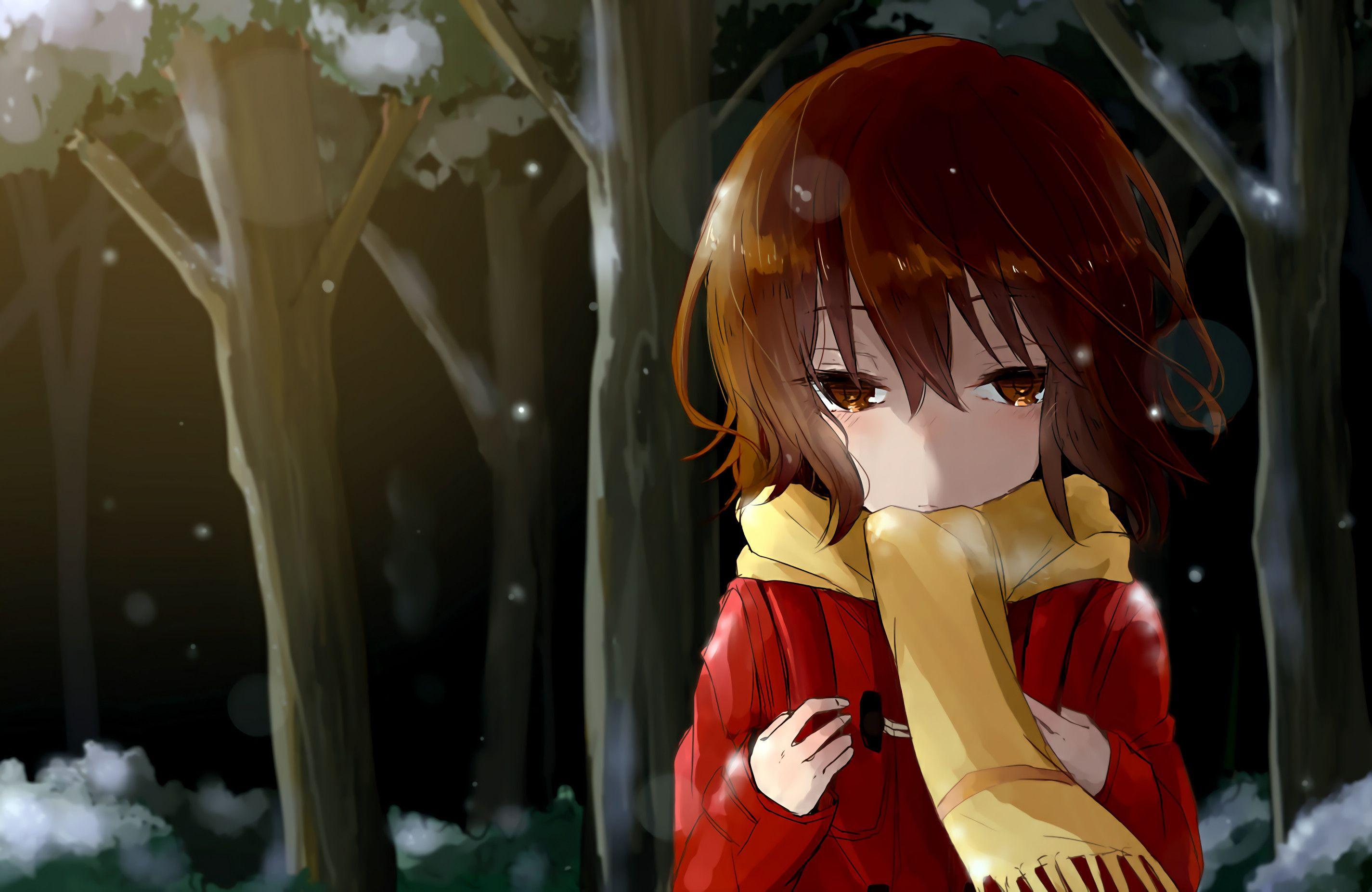 2850x1852 anime boku dake ga inai machi kayo hinazuki