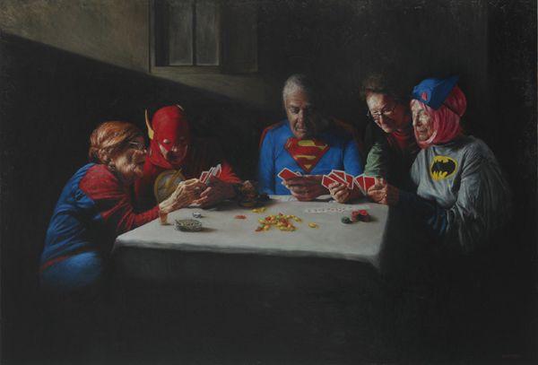 Jason Bard Yarmosky y sus maravillosas pinturas de viejos