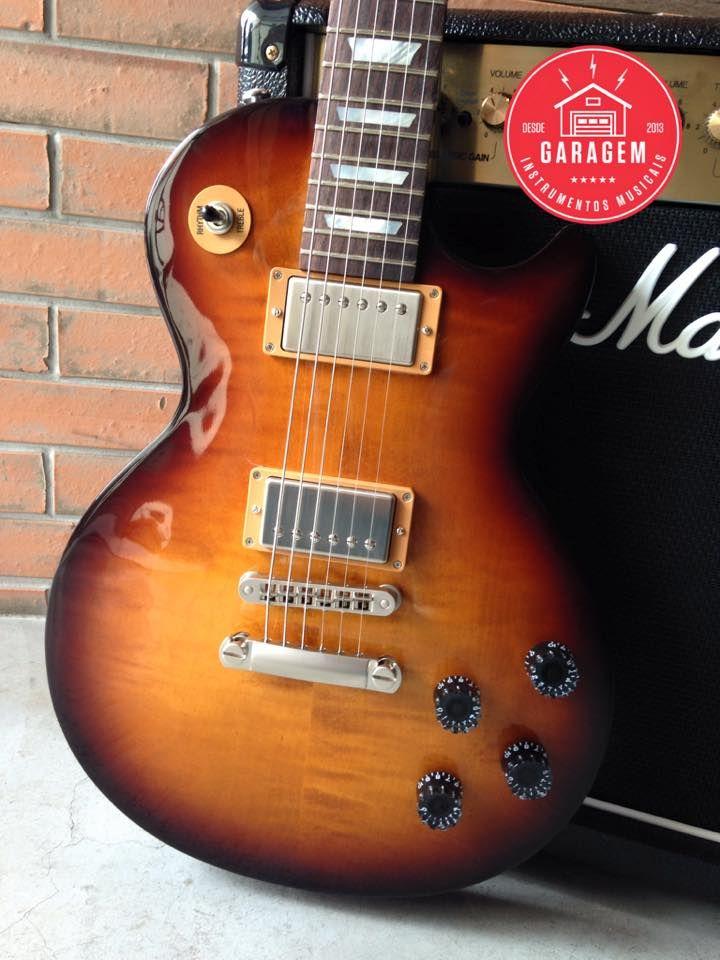 Gibson Les Paul Studio Chrome 2015 Desert Burst