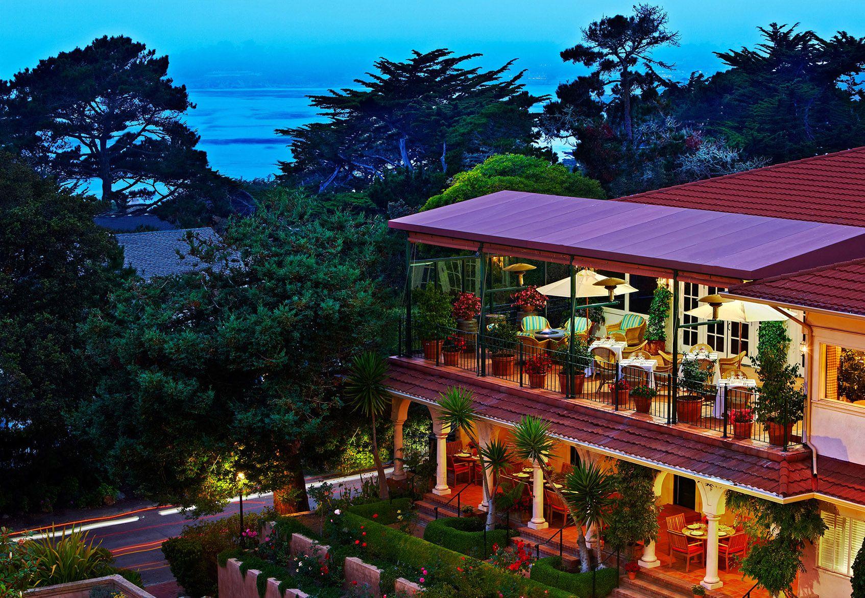 Gorgeous Spanish Style Hotel Carmel California Hotels Near Monterey Bay La Playa By