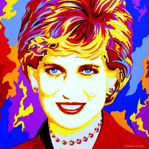 Diana Princess Of Wales Princess Diana Family Pop Art Images Pop Art