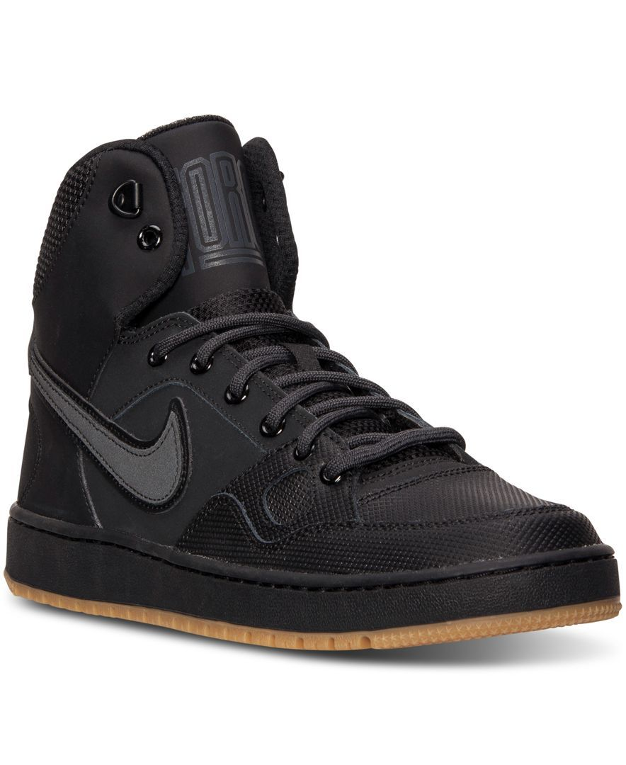 sneakers for cheap 88445 7d8b6 Nike Men s Son of Force Mid Winter Casual Sneakers from Finish Line