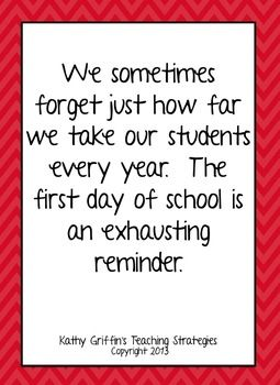 First Day Of School Inspirational Quotesg Free From Tpt School