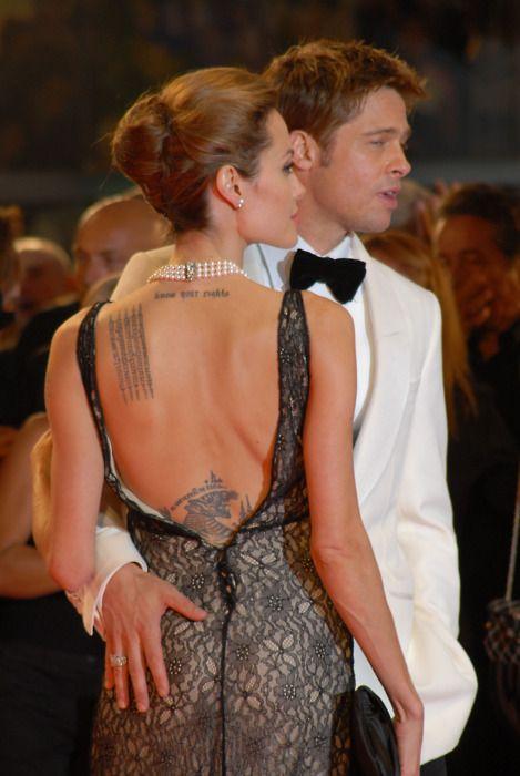 @PinFantasy - Angelina Jolie Brad Pitt ~~ For more: - ✯ http://www.pinterest.com/PinFantasy/gente-~-angelina-jolie/