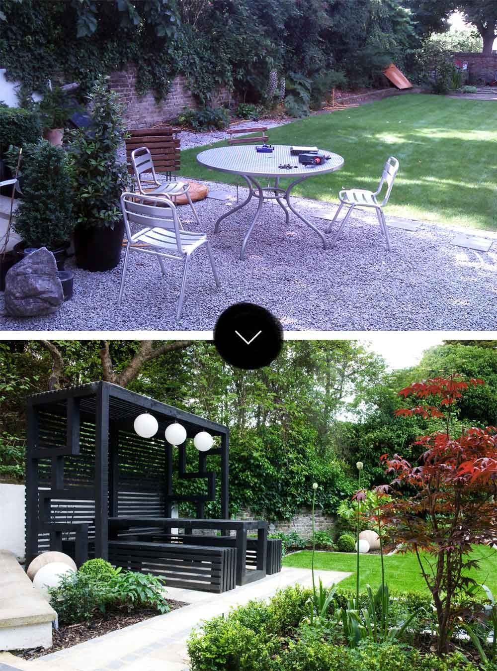 Chic modern garden design in chelsea by declan buckley with steps and - Before After A Modern Japanese Garden In North London On Design Sponge