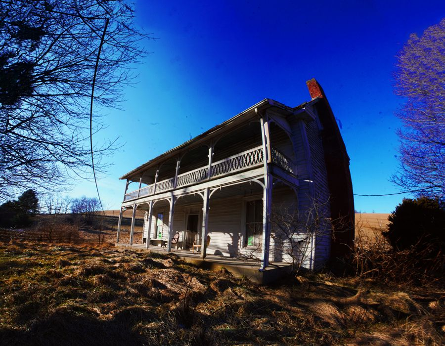 Abandoned house in tennessee