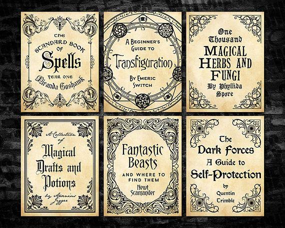 Harry Potter Book Cover Maker ~ Hogwarts hoggy warty teach us