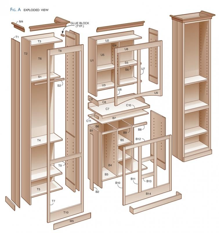 Kitchen Pantry Cabinet Plans Free | Kitchen pantry cabinets, Cabinet ...