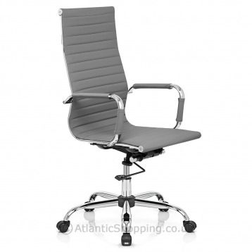 Our Metro Eames Office Chair Grey is ideal for the home office or ...