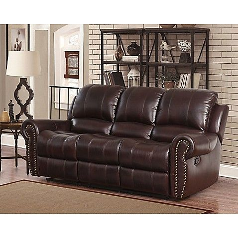 Abbyson Living Sedona Leather Seating Collection Genel Sofa And Loveseat Set Leather Couches Living Room Leather Sofa Living Room