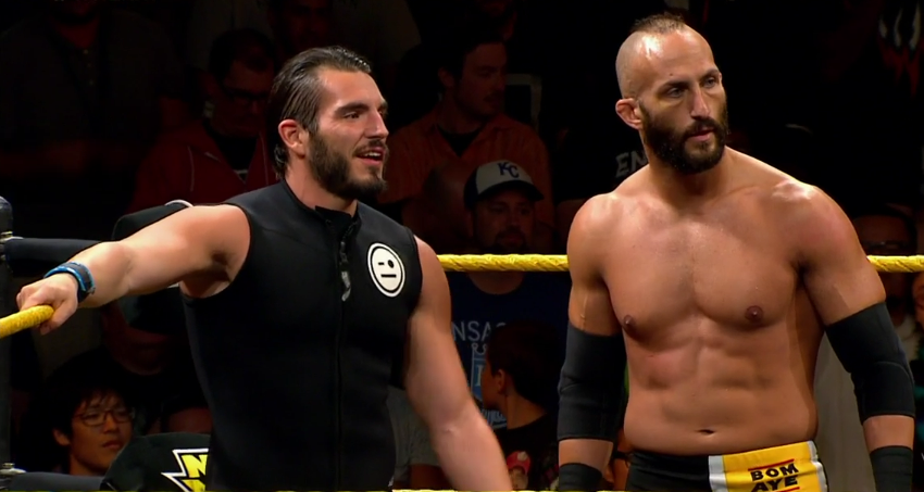 Johnny Gargano And Tommaso Ciampa In Their Nxt Debut Pro Wrestling Wrestling Johnny