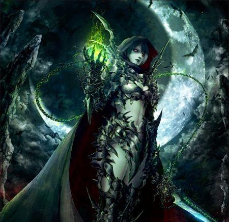 Dark Knight Darkness Art Beauty Night Female Dark Knight