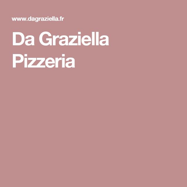 Da Graziella Pizzeria
