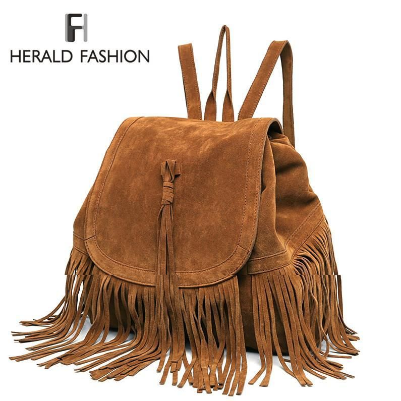 d00d7cddc7 Item Type  Backpacks Style  Fashion Gender  Women Lining Material   Polyester Exterior  Silt Pocket Closure Type  String Main Material  Faux  Suede Capacity  ...