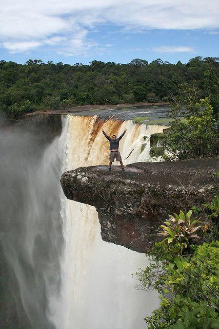 Cataratas Kaieteur Guyana Waterfall World Tourist Spots