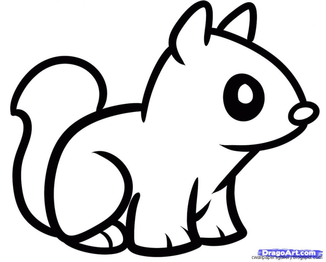 Easy Cute Step By Step Animal Drawings New Hd Wallpapers With Images Animal Drawings Cute Animal Drawings Easy Animal Drawings