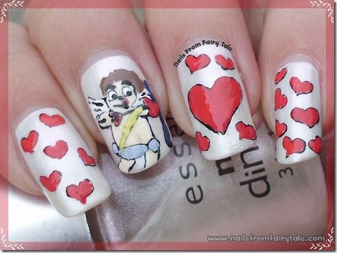 Cupid Nail Art Nail Inspiration Pinterest Cupid And Nails