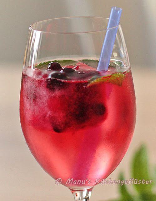 Lillet Wild Berry (Manu's Küchengeflüster) #alcoholicdrinks