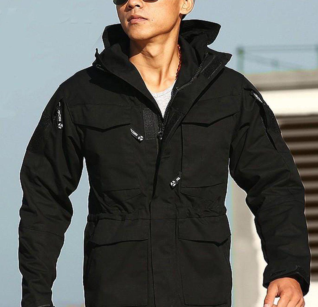 Men S Hoodie Coat Casual Tactical Windbreaker Waterproof Military For Winter Autumn Tactical Jacket Army Clothes Hoodie Coat [ 1064 x 1100 Pixel ]