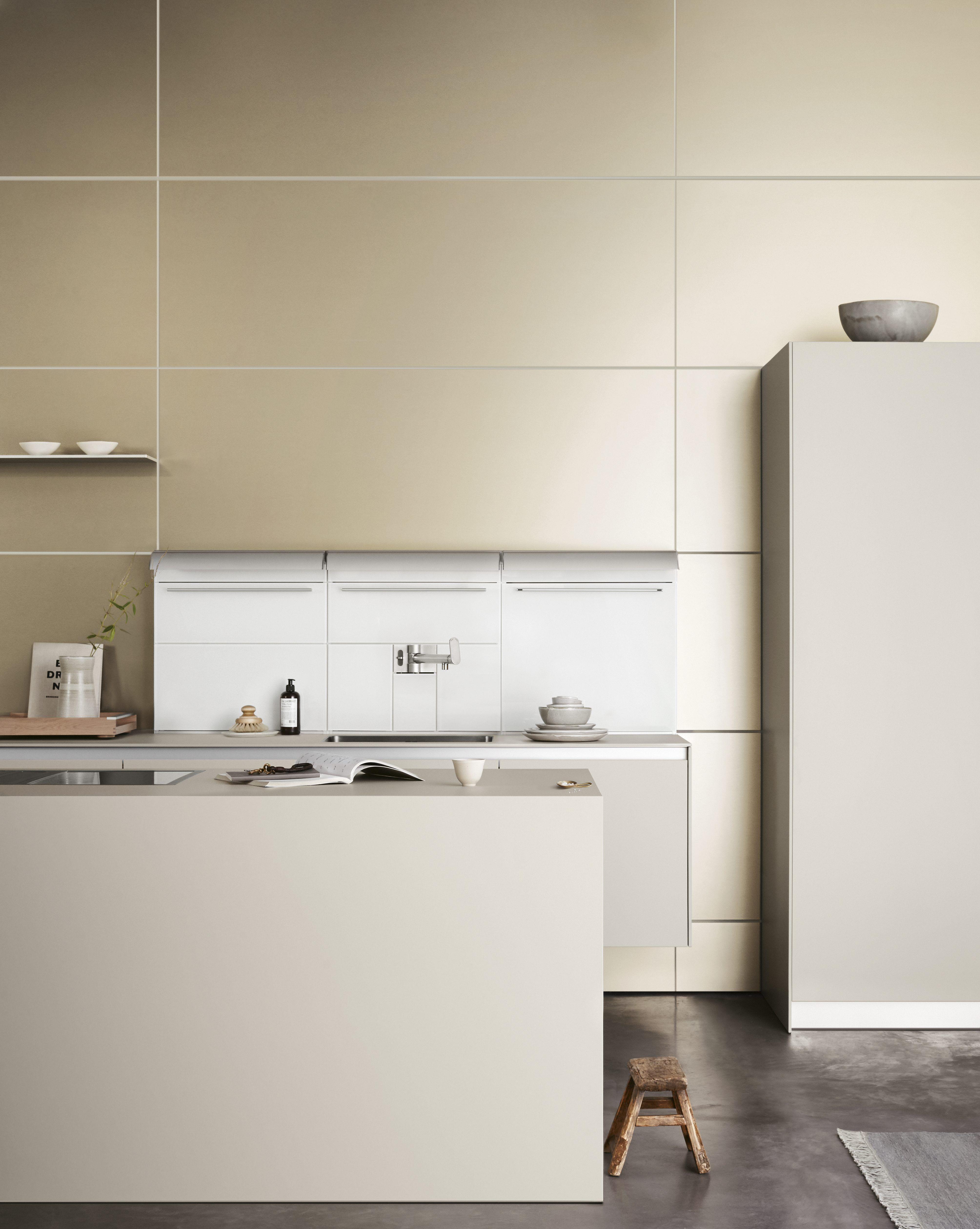 Küche k design eine weiße kücheninsel ist ein traum bilder und ideen für