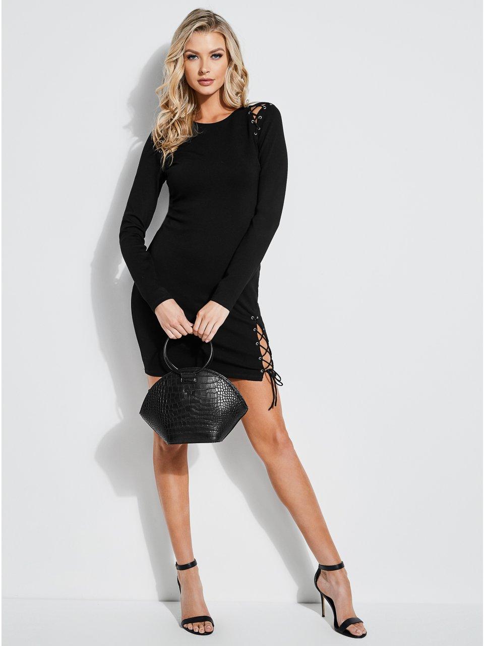 3d1d5b5b5c2f Andy Lace-Up Mini Dress | Products | Dresses, Dress outfits, Formal ...