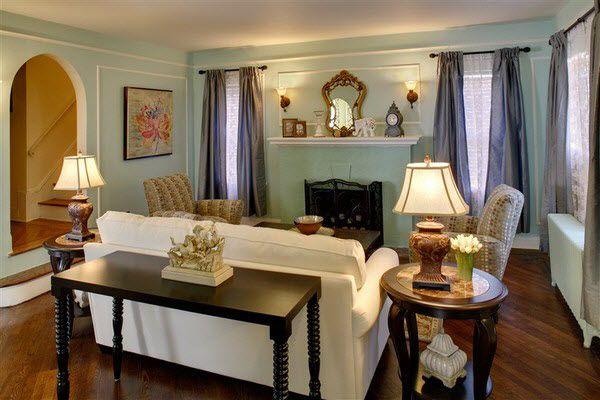 Hgtv Design Ideas Living Room Living Room Benjamin Moore's Leisure Green  For The Home