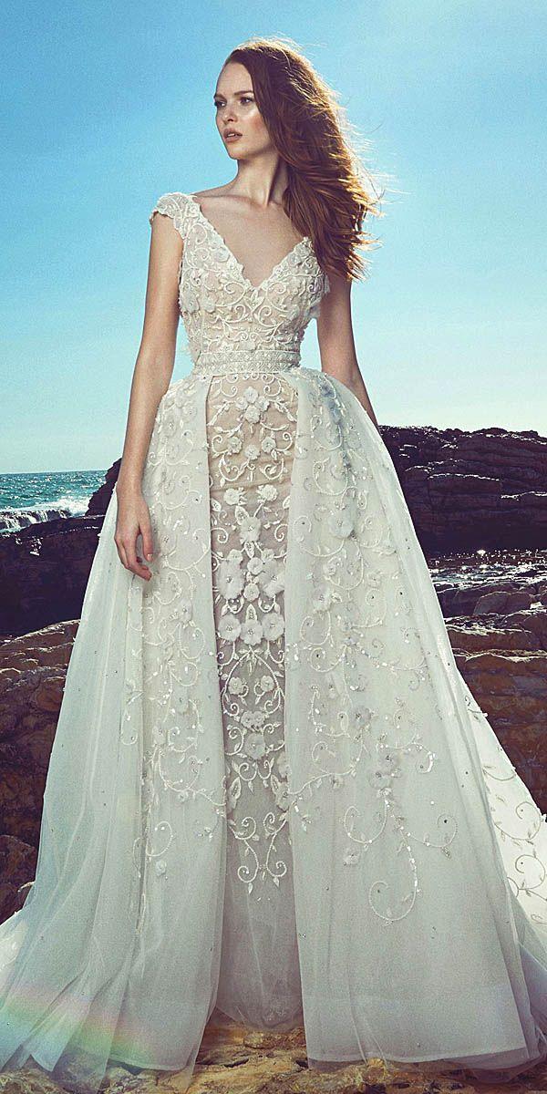 sightly wedding dresses designer beach gown 2017 - 2018   Romantic ...
