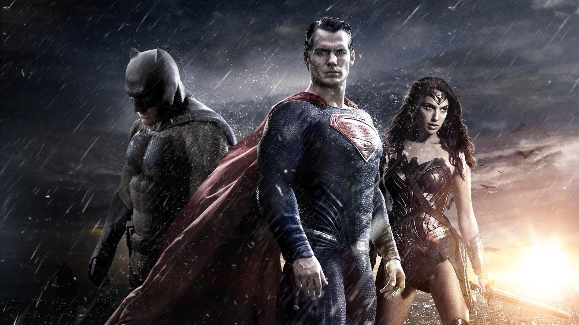Batman vs Superman movie wallpaper
