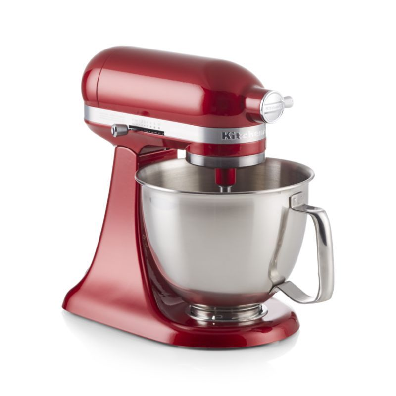 Kitchenaid artisan mini candy apple red stand mixer with